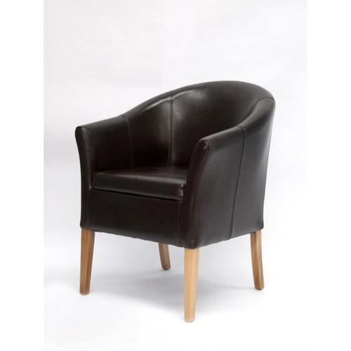 Opus Tub Bycast Brown Leather Dining Chair Dining Chairs  : 2676tubbrnf1778x103611 from www.oak-online.co.uk size 500 x 500 jpeg 12kB