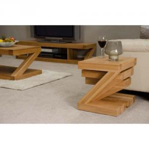 Z Oak Designer Nest of Tables