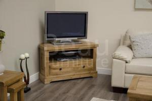 Deluxe Corner TV Unit
