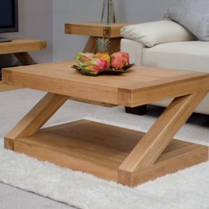Z Oak Designer 3 x 2 Coffee Table