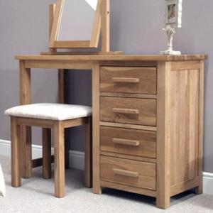 Opus Oak Dressing Table and Stool