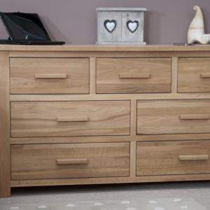 Opus Oak 7 Drawer Multi Chest