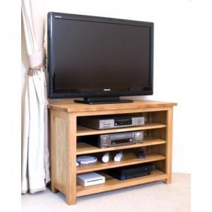 Opus Oak Corner TVPlasma Unit