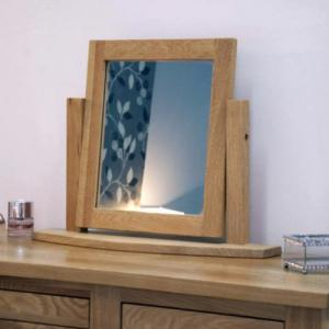 Opus Oak Dressing Table Mirror