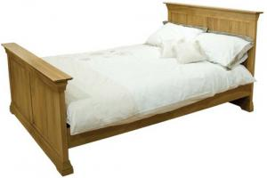 French_Oak_4_6quot_Double_Bed