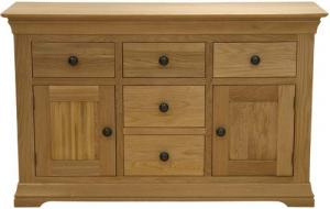 French Oak Large Sideboard
