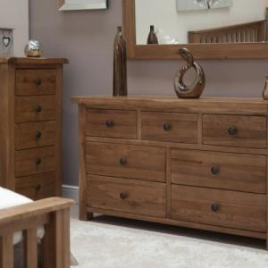 Rustic 7 Drawer Multi Chest