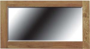 Opus Oak 900 x 600 Mirror
