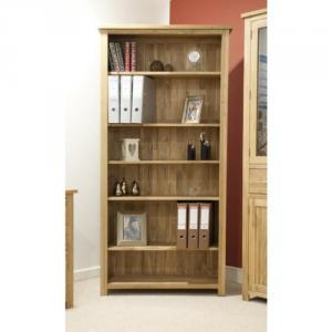 Opus Oak Large Bookcase