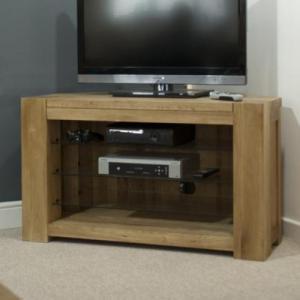 Trend Oak Corner TV Plasma Unit