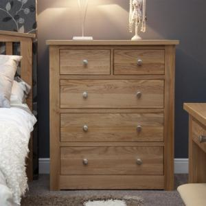 Torino 2 Over 3 Drawer Chest