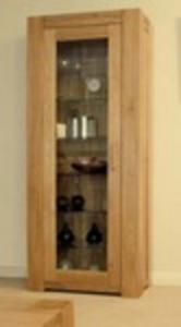Trend Oak 1 Door Bookcase