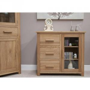 Opus Oak Small Glazed Chest