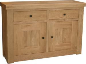 Bordeaux Oak 2 Door 2 Drawer Sideboard