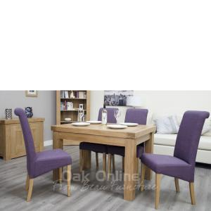 Bordeaux Small Extending Table  1 Leaf